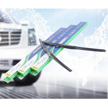 1PC 14-26inch High Quality U-type Interface Car Front Wiper Blade Universal Durable Three-section Windscreen For Auto