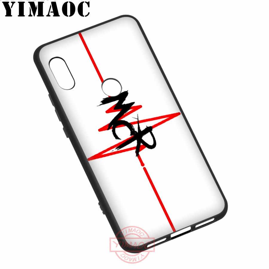 YIMAOC mi Che mi cal Romance caso suave para Xiaomi mi 10 9 8 iPhone 6 A1 A2 A3 Lite F1 9T Pro CC9E Max 3