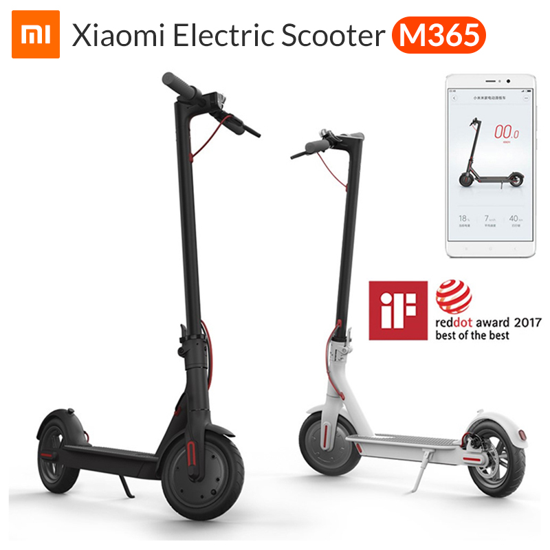 NEW XIAOMI MIJIA m365 electric scooter e scooter Folding e bike electric skateboard adult 30km battery life smart connect to APP