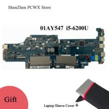 01AY547 01AV598 CPU i5 6200U DDR4 Integrated Mainboard for Lenovo thinkpad 13 Original Laptop Motherboard DAOPS8MB8G0 Free Ship