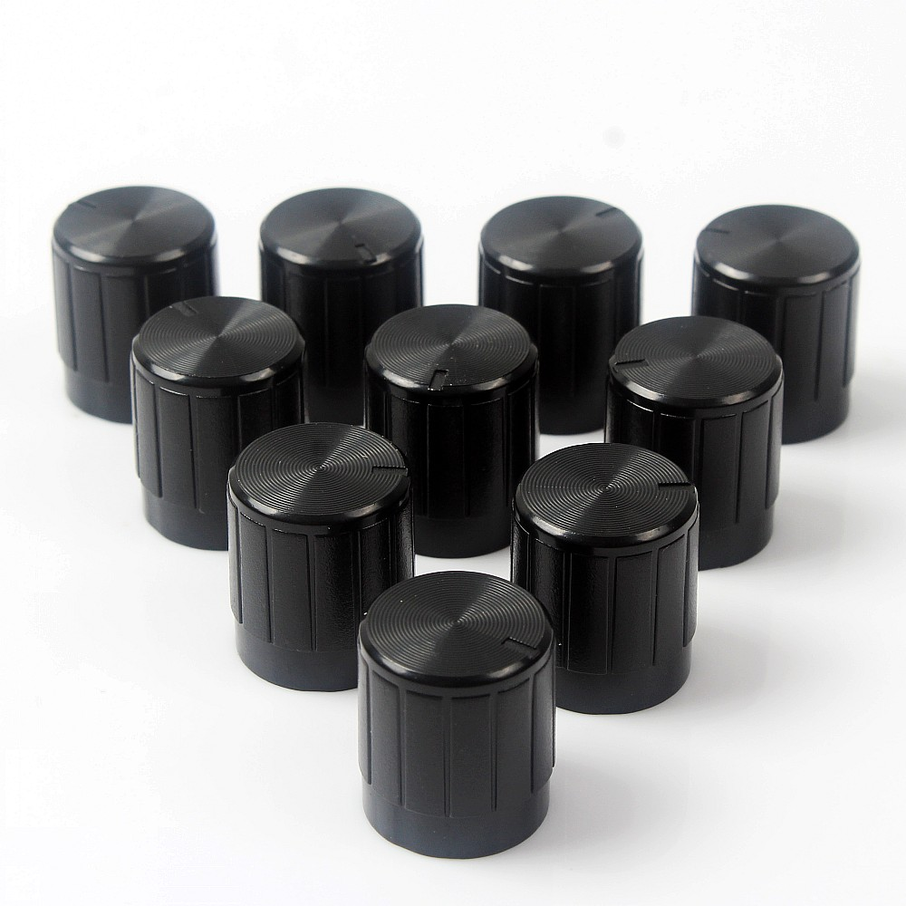 10PCS Potentiometer Plastic Knob 14 X 16MM Volume Control  Knobs  Knob For Encoder