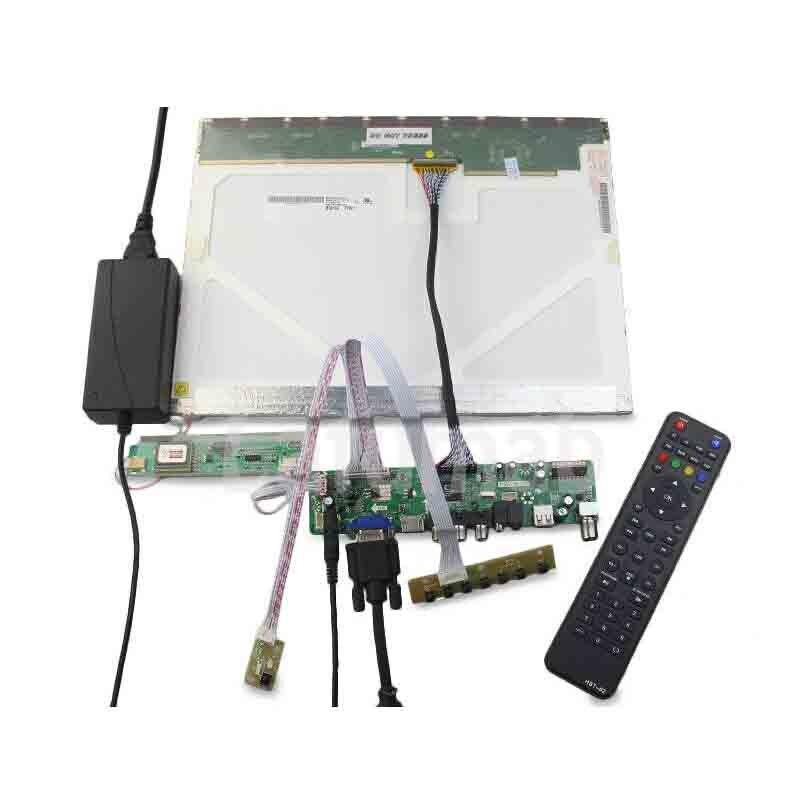 Kit for   LTN170BT08  TV+HDMI+VGA+USB LCD LED screen Controller Driver Board