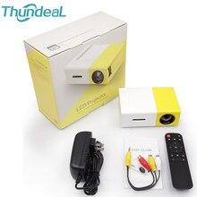 Navio da gota yg300 projetor para 1080p completo hd vídeo beamer YG-300 yg310 yg300 pro mini led projetor portátil jogador de teatro em casa
