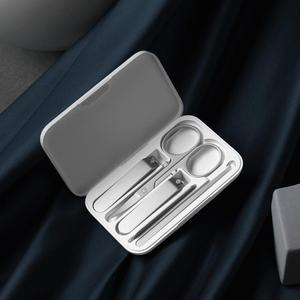 Image 4 - Xiaomi Mijia Five Piece Nail Clipper Kit Elegant Lightweight Versatile Magnetic Store Box Portable High Quality Stainless Steel