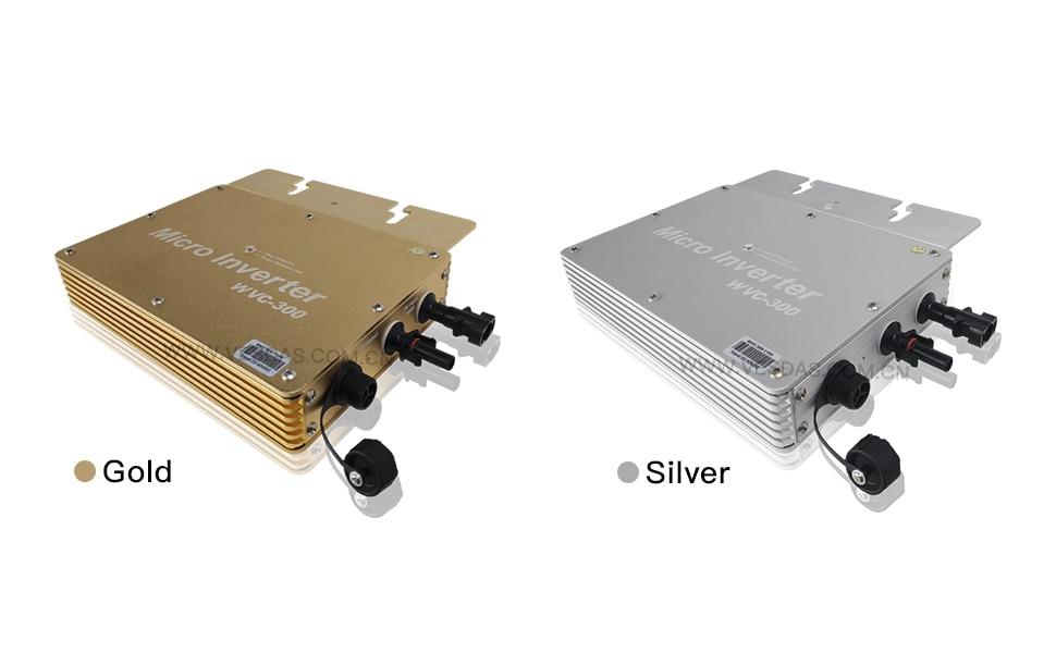H5c3054f048df4de79b32e96657697138A - 300W Micro Inversor Solar MPPT Grid Tie Inverter Microinverter 24V 220V Pure Sine Wave Inverter 22-50VDC Wtih 1 Year Warranty