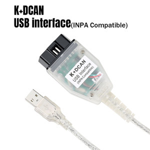 Image 2 - Best Price for BMW INPA K+CAN K CAN INPA With FT232RQ Chip INPA K DCAN USB Interface Full Diagnostic For BMW From 1998 To 2008