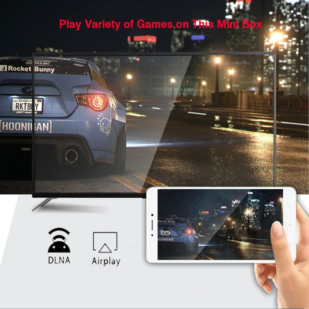 4 2 Android Tv box 9.0 H96 MAX Rockchip 2GB 4G 16GB 32GB 64GB Android box Bluethooth 2.4/5.0G WiFi 4K 3D Google Play Smart Tv box (3)