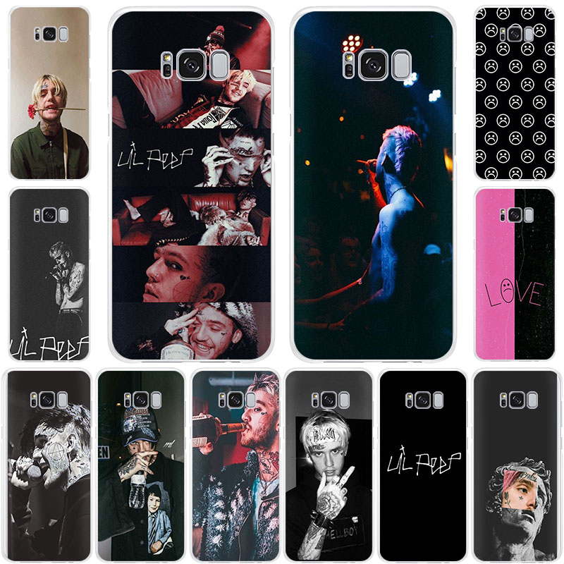 Lil Peep Soft TPU Silicone phone case for Samsung Galaxy S11 S105G S10+ S10E S9 S8 S7 A62018 <font><b>A72018</b></font> A82018 A9Pro fashion cover image