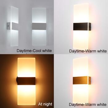 Mooi Moderne Led Acryl Wandlamp  3