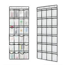 24 Grid Multipurpose Storage Hanging Bag Behind Door Large Capacity Foldable Washable Mesh Pockets Closet Home Shoes Organizer