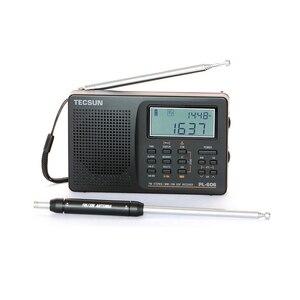 Image 3 - Tecsun PL 606 Digital PLL Portable Elderly/Studendt Radio FM Stereo / LW / SW / MW DSP Receiver Lightweight Rechargeable