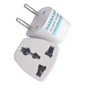 1pcs Universal EU Plug Adapter International US UK AU To EU Euro 2Pin Travel Adapter Electrical Plug Converter Power Socket 2020