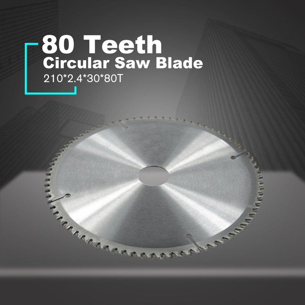 80 Teeth TCT Circular Saw Blade Wheel Discs TCT Alloy Woodworking Multifunctional Saw Blade For Wood Metal Cutting