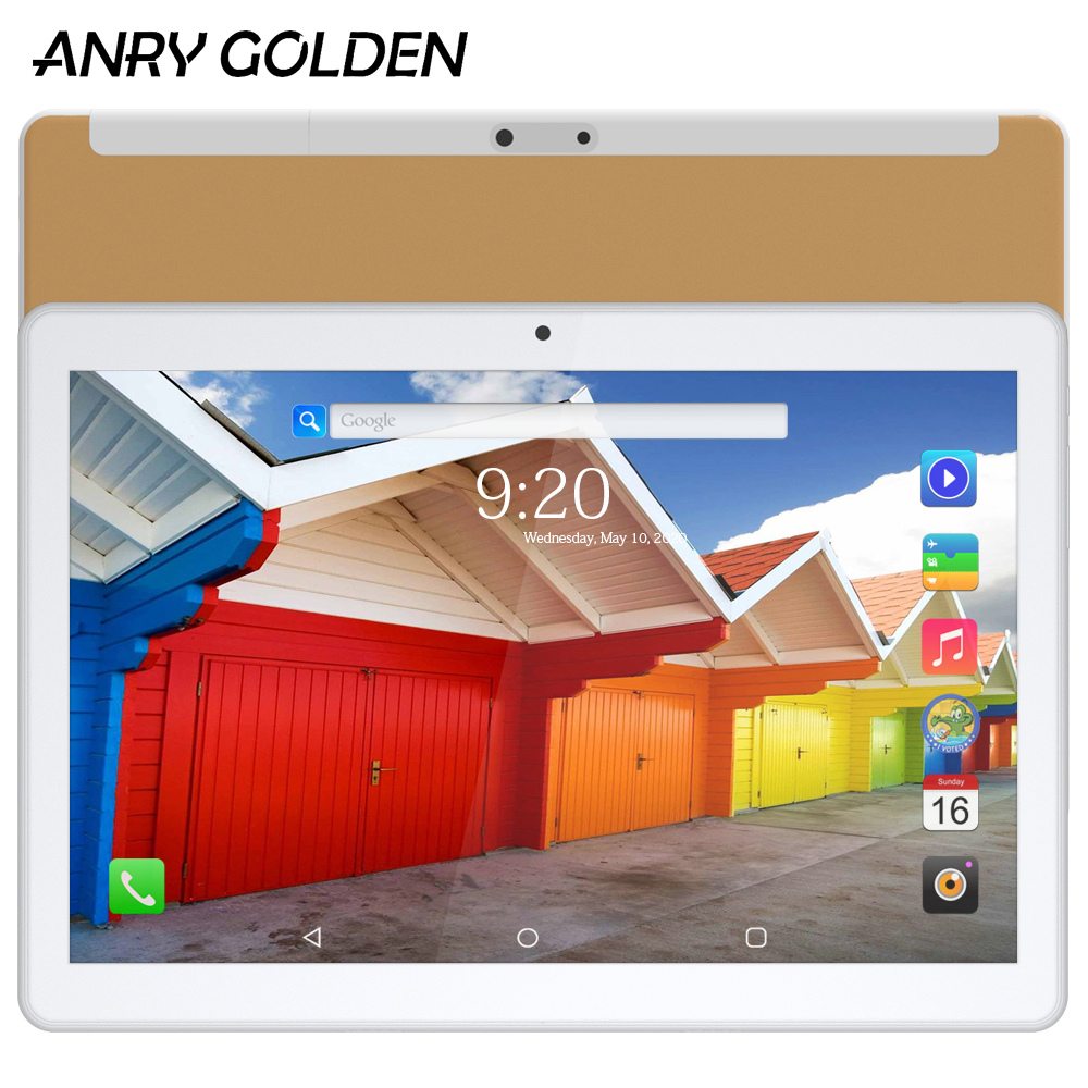 ANRY RS10 Tablet Android 10 Inch Tablet 1280 X 800 Touch Screen 1G +16G ROM Wifi GPS Android 7.0 MTK6580 Quad Core Tablet 10