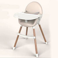 Child High Chair Multifunction Foldable Portable Double Layer Plate 0~6 Years Old Children Feeding Chair