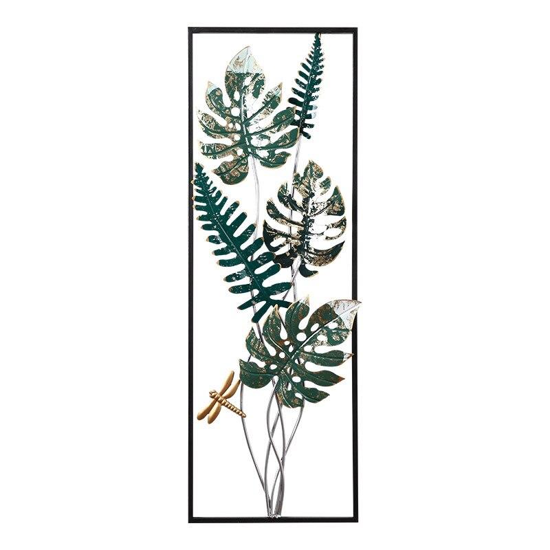 Скандинавский ветер Тропическое растение для украшения стен креативная гостиная спальня Подвесной Настенный декоративный фон настенные д... - 3