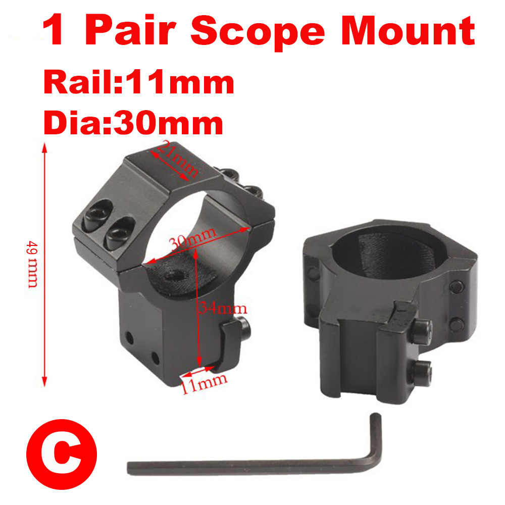 2pcs 25 4mm 30mm Hunting Riflescope Mount Ring 11mm Dovetail 20mm Picatinny Rail High Or Low Air Gun Rifle Scope Mounts Mount Ring Ring 11mmdovetail Rail Aliexpress