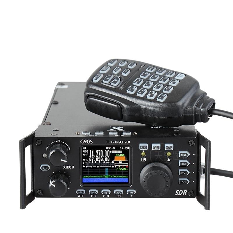 Xiegu G90 HF радиолюбителей трансивер 20 Вт SSB/CW/AM/FM 0,5-30 МГц SDR Структура со встроенным автомобильной антенны тюнер