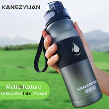 Colorful Sport Water Bottle Protein Shaker Bottle Outdoor Travel Portable Leakproof Drinkware Plastic Thermos Kettle BPA Free