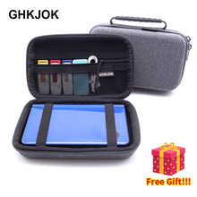 Hard Drive Storage Bag Case For HDD SSD USB Data Cable 3DS XL 3DS XL Game