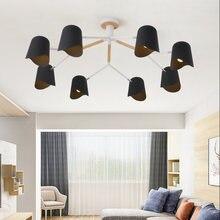 Художественный дизайн светодиодная люстра с e 27 лампочками