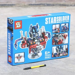 Image 3 - NEW 2020 Star Soldier Optimus Prime Bumblebee Transformation Robot Building Blocks Toys For Childrens Gifts
