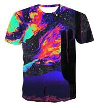 Модная дизайнерская футболка с геометрическим рисунком модный