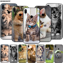 Funny Kitten Cat Case for Xiaomi Redmi 4A 4X 5 5A 6 6A 7 7A S2 Note Go K20 Pro Plus Prime 8T(China)