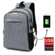 купить 15.6 15 Inch Laptop Backpack USB Charging Anti Theft Backpack Men Women Backpacks Canvas School Bags For Teenage Girls Boys Man в интернет-магазине