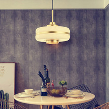 Nordic Minimalist creativity Glass Gold LED Pendant Lamp Industrial Hanging Lamps Luminaire Pendant Light for Bedroom Foyer