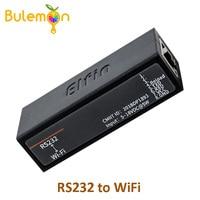 Serial port RS232 to WiFi device server module Elfin-EW10 support TCP/IP Telnet Modbus TCP Protocol data transfer via WiFi