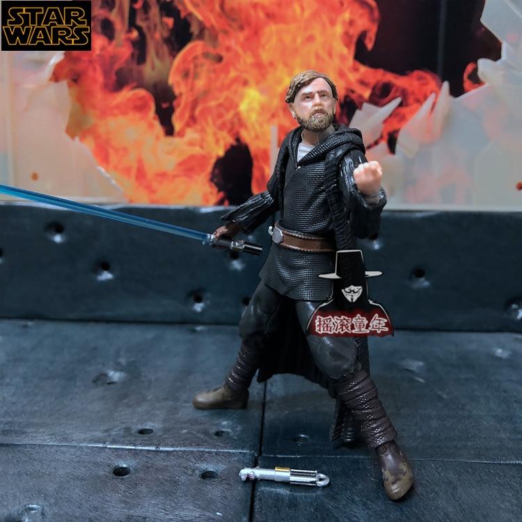 3.75inch Star wars Luke Skywalker old Jedi anime action & toy figures model toys for children