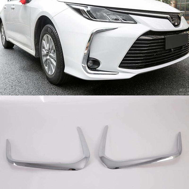 Only European Model !!! Car Styling Accessories For Toyota Corolla E210 Sedan 2019 2020 ABS Front Fog Light Lamp Cover Trim