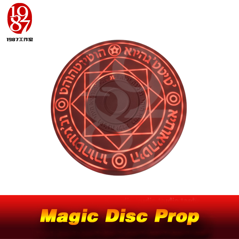 JXKJ1987 Creatvie Room Escape Game Props Magic Disc Prop Put A RFID Card In The Middle Of The Magic Disc It Will Be Lighted Up