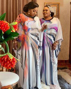 Image 3 - Länge 150cm 2 Stück Set Afrikanische Kleider Für Frauen Afrika Kleidung Muslimischen Lange Kleid Länge Mode Afrikanischen Kleid Für dame