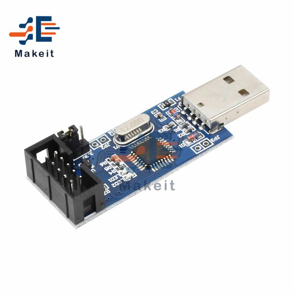 Минимальная системная плата AVR ATMEGA16, макетная плата ATmega32 + программатор USB ISP USBasp, ISP ATTiny 51, модуль платы, Наборы для творчества