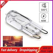 Lâmpada durável resistente de alta temperatura do bulbo do halogênio da luz do forno 40w g9 para ventiladores dos fornos dos frigoríficos
