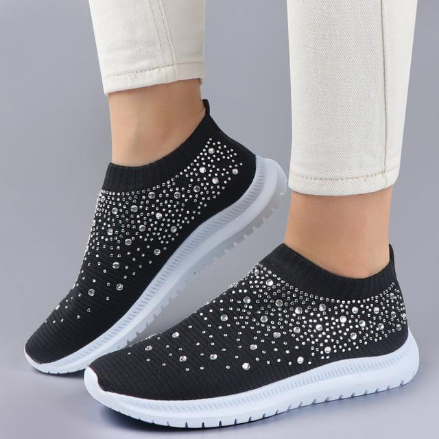 Sparkle Sneakers Pa Hende Muhe 1