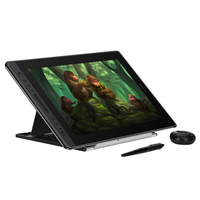 HUION Kamvas Pro 16 Graphic tablet Drawing tablet Digital Monitor 8192 Levels with Shortcut keys and Adjustable Stand