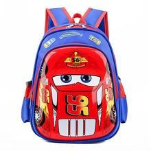 Детский рюкзак disney Детская сумка для прогулок с машинками