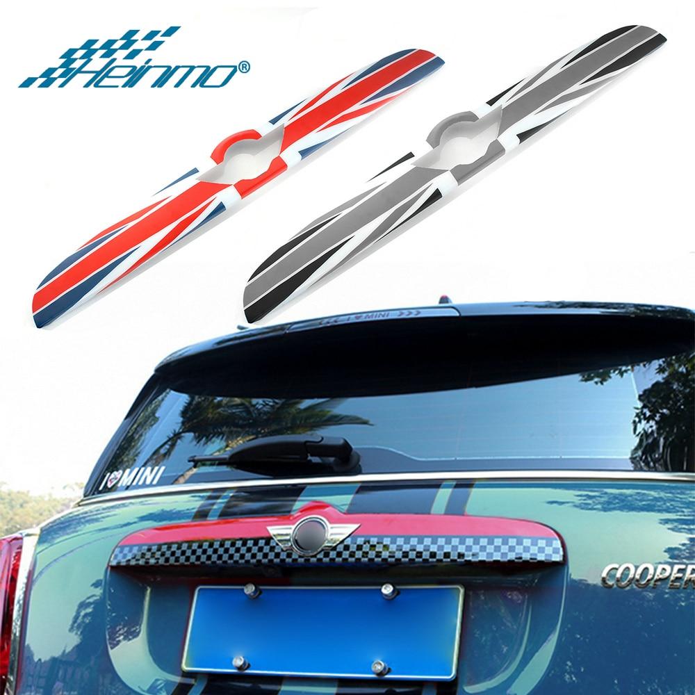 For MINI Countryman F60 Car Rear Trunk Door Handle Sticker For MINI F60 Styling Decoration Cover For MINI Cooper Accessories