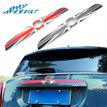 For MINI Countryman F60 Car Rear Trunk Door Handle Sticker For MINI F60 Styling Decoration Cover For MINI Cooper Accessories