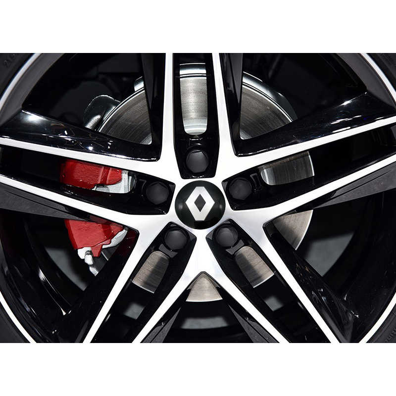 4 pièces 56.5M Aluminium Logo Voiture Moyeu De Roue Capuchon Central Autocollant Pour LADA BMW AUDI Mercedes-Benz toyota lada ford opel Renault Mazda