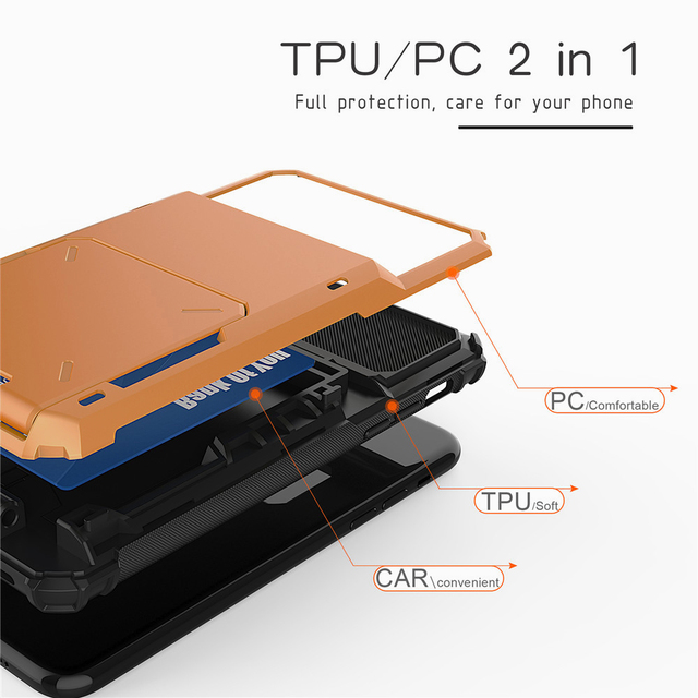 Multi Card Holder Case for iPhone 11/11 Pro/11 Pro Max 4
