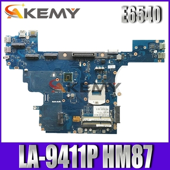 LA-9412P motherboard High quality For E6540 Laptop motherboard CN-00C96W 00C96W 0C96W VALA1 LA-9412P E6540 mainboard 100% Tested