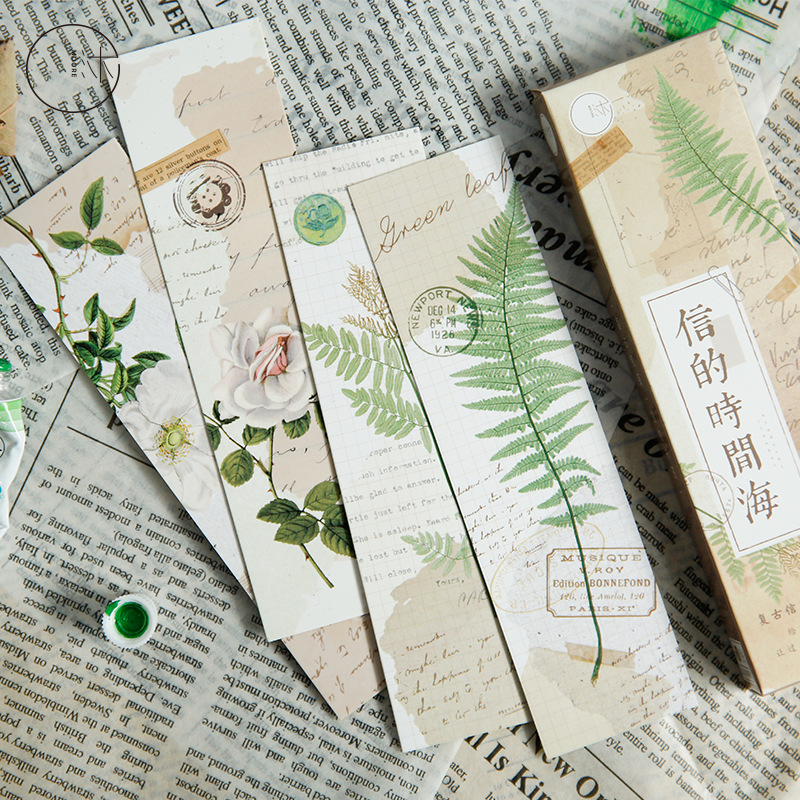 30pcs/1 Lot City Of Birds Paper Bookmarks Bookmarks For Books/Share/book Markers/tab For Books/stationery