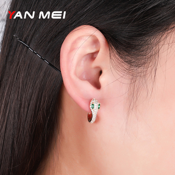 Yan Mei New Fashion Retro Style Round Snake Earrings Women s Jewelry Earrings Personalized Trend Earrings.jpg 350x350 - Yan Mei New Fashion Retro Style Round Snake Earrings Women's Jewelry Earrings Personalized Trend Earrings