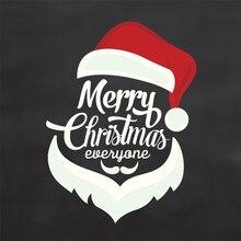 Naifumodo рождественские заготовки Санта-Клаус металлические режущие штампы Новинка для изготовления карт Скрапбукинг тиснение порезы трафарет ремесло штампы