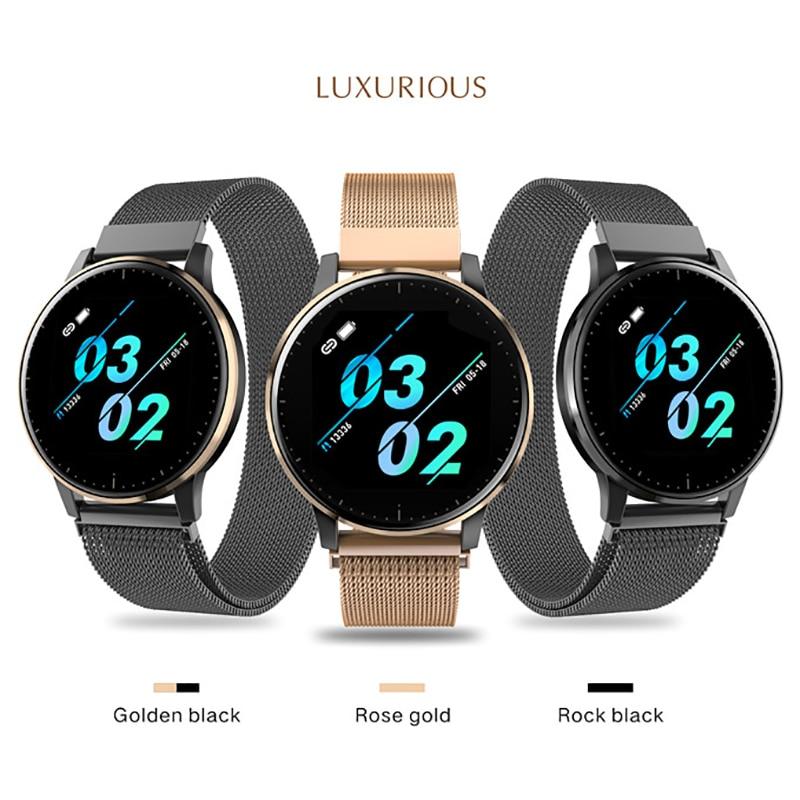 Q8 atualização de tela Grande relógio Inteligente Q9 relogio pulseira de Saúde de Fitness pedômetro freqüência cardíaca relógios de medição de pressão Q20 reloj