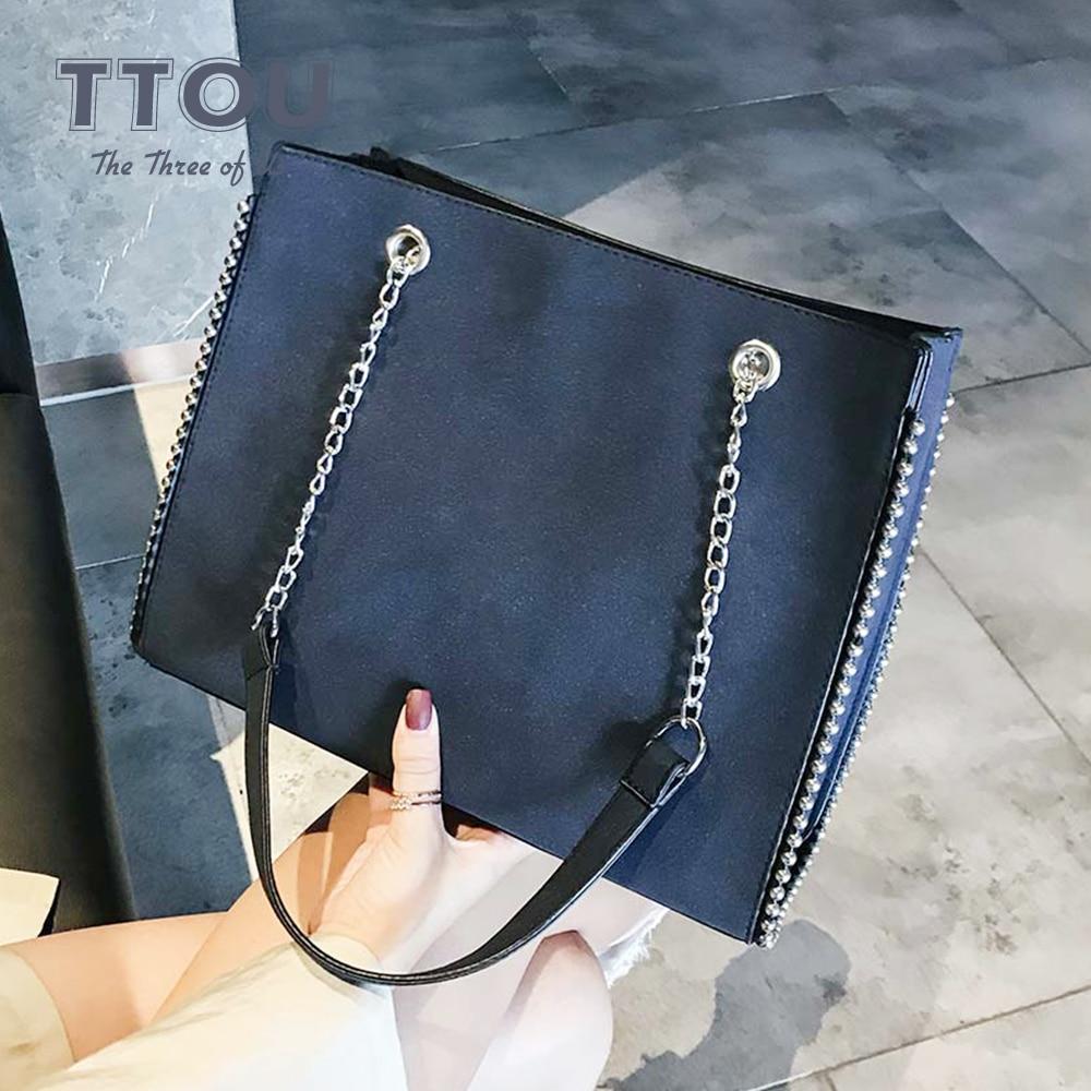 Designer Handbags High Quality PU Leather Crossbody Bags Large Capcity Shoulder Messenger Bags For Women 2020 Shopping Solid Bag